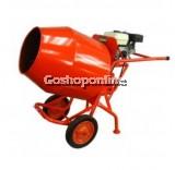 Hisaki YMM350 Mini Concrete Mixer with Single Phase Electric Motor 2HP