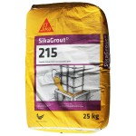 SikaGrout 215 Pumpable Shrinkage Compensated Cementitious Grout 25KG