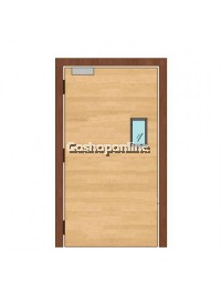 Gayador 1 Hour Single Leaf Fire Rated Door 900MM (W) x 2100MM (H) with Metal Frame + Vision Panel
