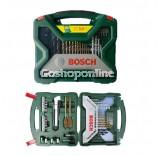 Bosch #2607019327 X-Line 50-Piece Titanium Drill Bit & Screwdriver Bit Set [FREE] AEON Voucher RM20