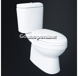 WATER CLOSET - EZYFLIK TRAVERS 8001 (with SOFT CLOSE SEAT & COVER)