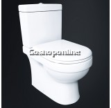 WATER CLOSET - EZYFLIK ROBSON 6002 (with SOFT CLOSE SEAT & COVER)